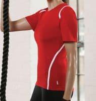 Canicross Cymru Womens technical t-shirt